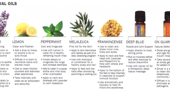 Essential oil for medicinal and health purposes